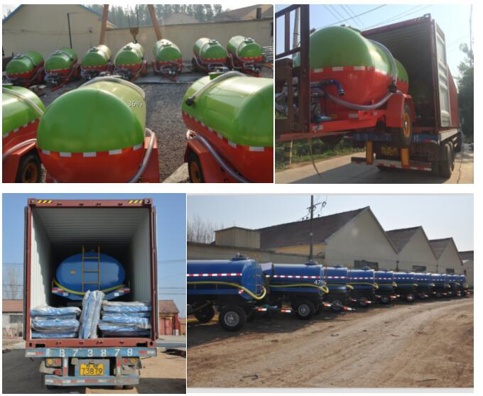 high quality transporter 5 ton 4 wheel tractor water tank trailer for sale