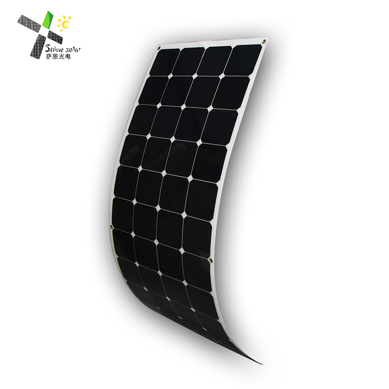 High performance 150w flexible thin film solar module, sunpower solar panel