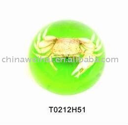 marble real insects resin