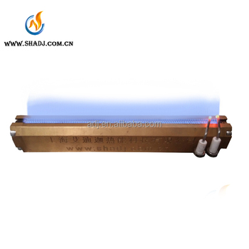 height power gas burner Flame Singeing treatment machine