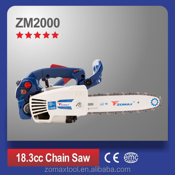 mini top handle 18.3cc chainsaw ZM2000