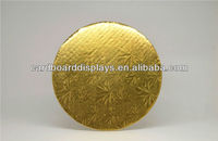 "Golden paper cake board in 7""--cake board foil"