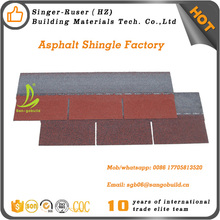China factory direct sell 5 shapes roofing material asphalt shingles
