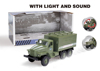 high quality friction car toys simulation military model Open Door Car Toy With IC and Light