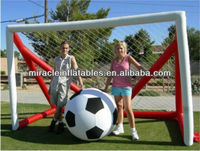commercial quality outdoor inflatable soccer shooting M6024