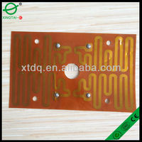 Electric thick film paste for hair dryer