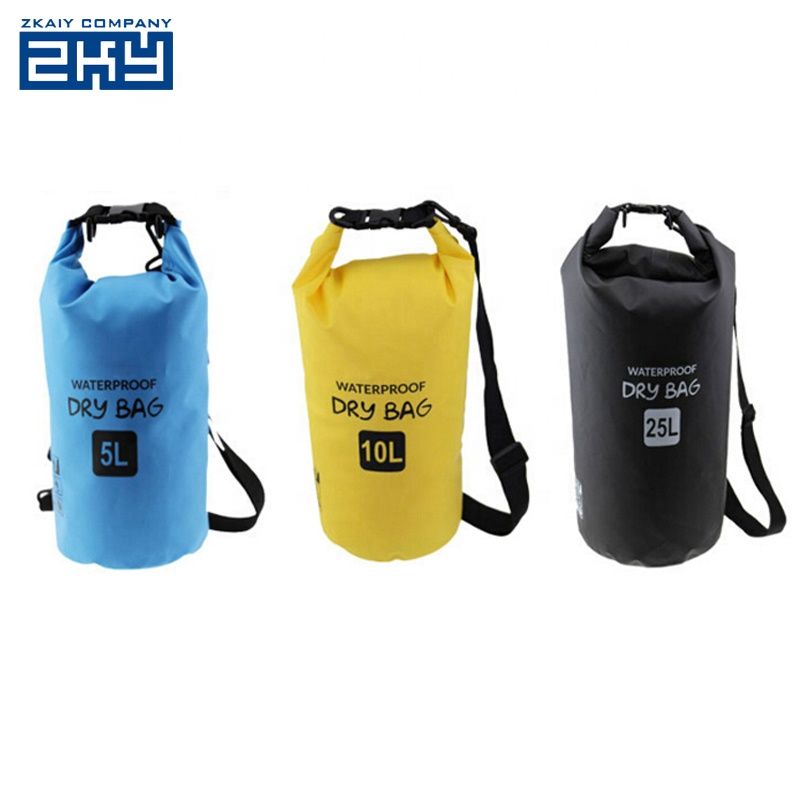 Colorful 5L-30L River Trekking Drifting Seal Ocean Pack Swimming Floating Waterproof Dry Bag For Outdoor