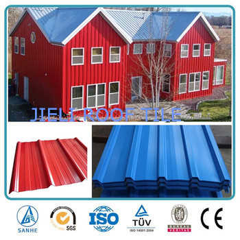 Maroon environment friendly roofing tiles /UPVC roof tile prices