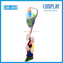 Colorful point of sale display stands, temporary displays for Amusement Park festival publicity