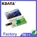 Popular Hot Tech Gadgets Credit Card USB Flash Drive with Logo Printing