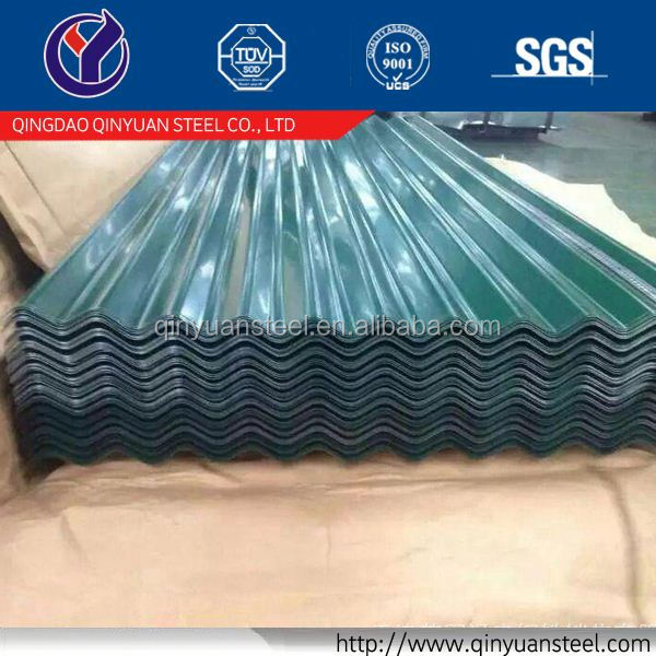 corrugated roofing sheet corrugated color coated sheet, long span corrugated steel roofing sheet