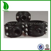new style strong stems clamp saddle for HDPE pipe