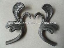 ornamental casting leaf/ casting iron