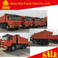 Made in China 10 wheels 20m3 loading capacity tipper truck with 12.00R24 tire