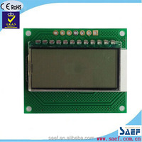 7 segment lcd display 4 digit customized monochrome display