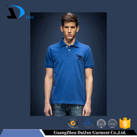 Daijun embroidery drop ship 100 percent cotton free sample polo shirt
