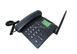 New quad band 850/900/1800/1900Mhz SMS&FM Radio gsm table phone with sim card