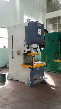 JH21 C frame Power Press, High Speed 110ton Pneumatic Carbon Steel Plate Punching Machine