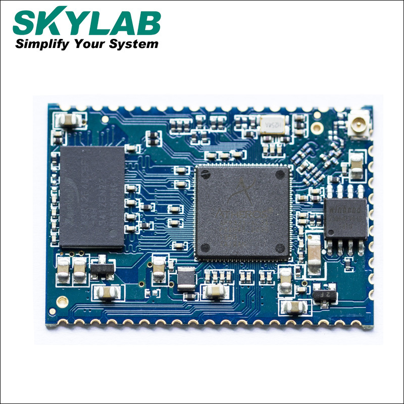 Skylab 2016 UART WiFi module SKW 72 AR9331 chip with AP/ AP Client/ Repeater mode for wholesale