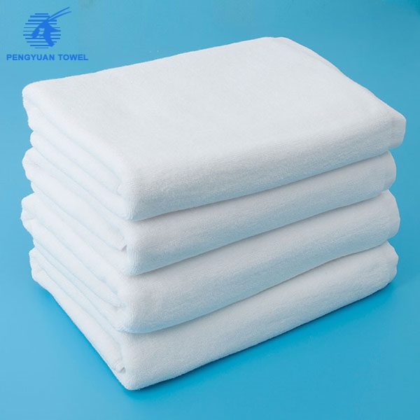 china supplier wholesale high quality 5 star white Luxury 100% cotton hotel towel