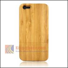 Wooden phone case bamboo wood phone shell protective back cover for iphone 5C