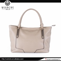 Wishche W030 Wholesale Factory Real Leather Ladies Handbags Pocket Computer Satchel Luxury Bags