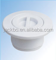 Superd Quality White Plastic Pool Accessories Vacuum Fitting Swimming Pool Inlet Fittings