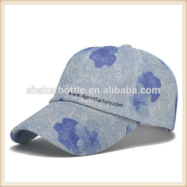 Hot Selling New Style Fashion OEM 6 panel Baseball Cap For Women