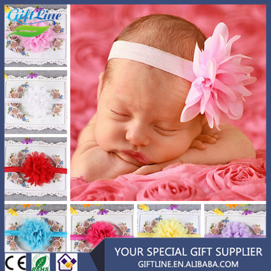 2017 Fashional Beauriful Kids Flower Hairband/Baby Beautiful Headband/ Baby Hair Accessories