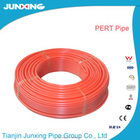 1620 PE-RT/EVOH anti oxygen barrier pipe red color plastic pipe
