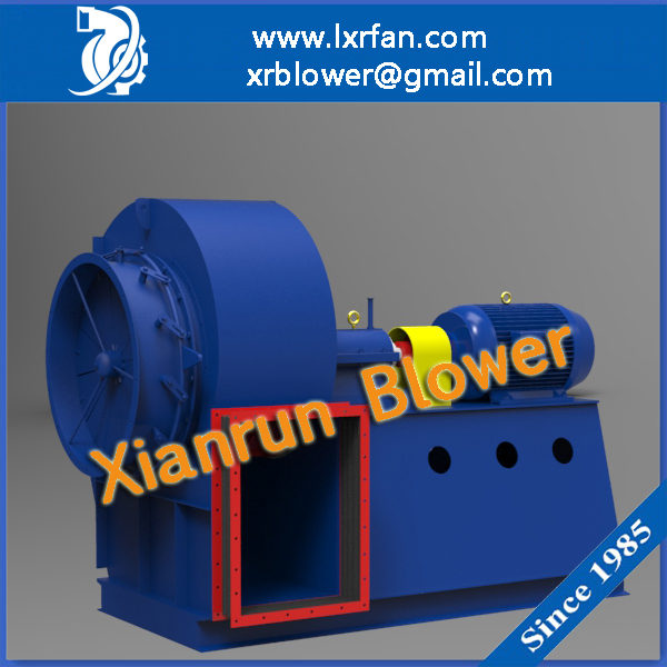 Centrifugal Fan Type Lime Rotary Kiln Blower Fan For Air Exhausting