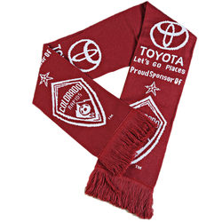 Toyota National football fans christmas knit scarf