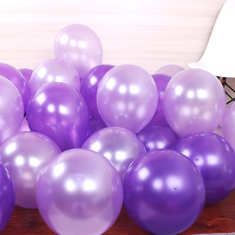 Balloon Wholesale  Birthday Wedding Party Decoration Round Shape Air Helium Globos 12 Inch 3.2g Matte Color Latex Balloons