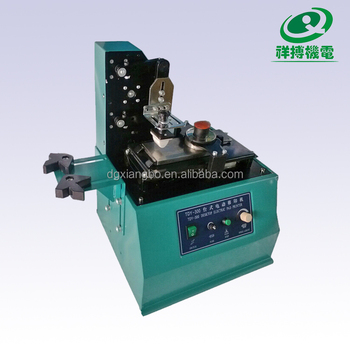 TDY-300 Date on glass bottle expiry date stamping machine
