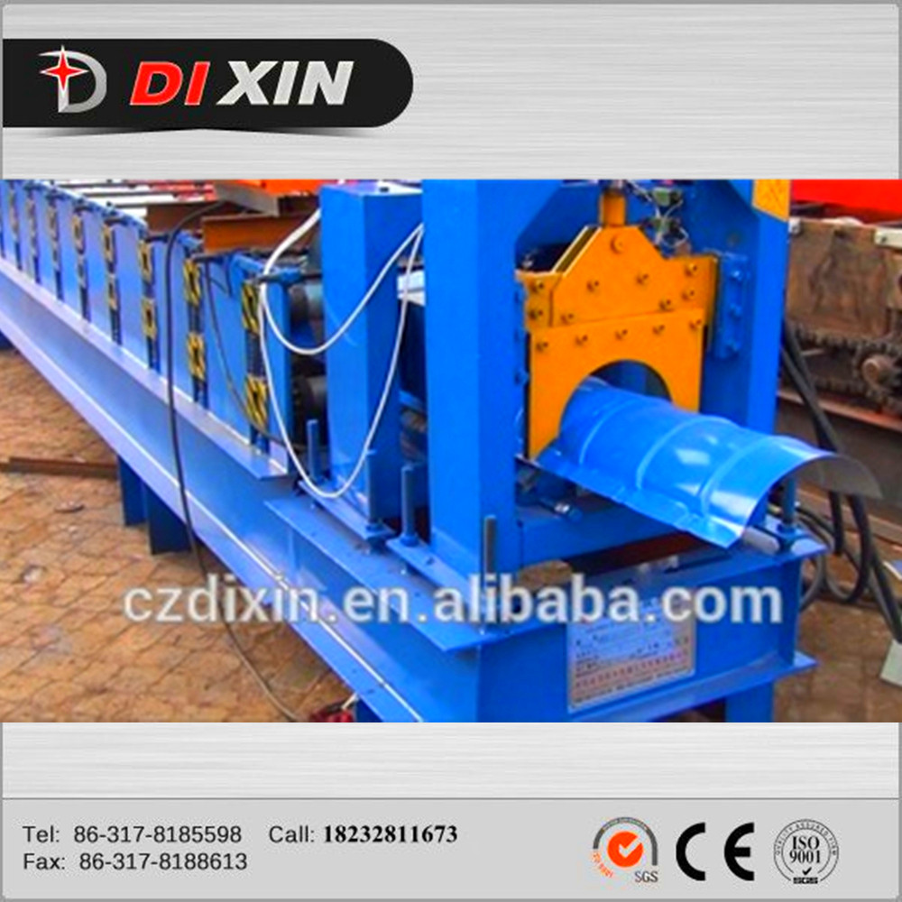 ridge cap forming machine/gutter roll forming machinery/ridge cap roof tile making machine