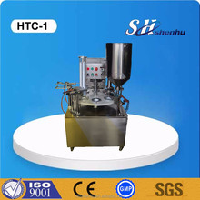 Rotary plastic soy cups filling sealing machine manual