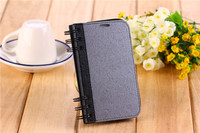 for iPhone 5 Leather Case/Flip Cover with Design Note Book designs Mobile Phone Case Diary Leather Case for iPhone 5