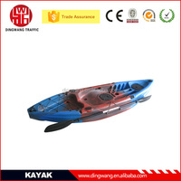 Zhejiang DINGWANG New Arrival Rotational Sit on top Plastic Fishing Boats