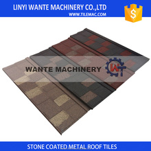 Shingle/flat Metal Type Roof Tile, Heat Insulation Roofing Shingles