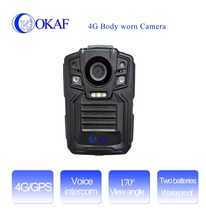 3G/4G WI-FI with GPS/Dipper positioning module mini portable police video body worn camera