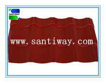 color metal roofing tile