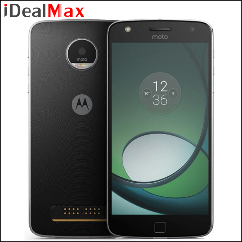 Original Moto Z Play Smart Phone 3GB RAM 64GB ROM Snapdragon 625 Octa Core 5.5 inch Android 6.0 Camera 16.0MP 1920*1080 4G LTE