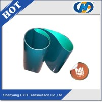 fit for tarpaulin light profile pu transmission conveyor belt