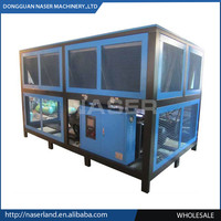 100TR Air Cooled Screw Compressor Chiller( Air to Water Chiller)