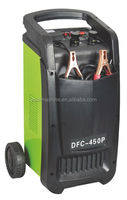 High efficiency car battery charger machine with wheel