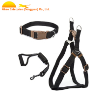 Adjustable Nylon Dog Collar And Leash For Walking And Training Pets