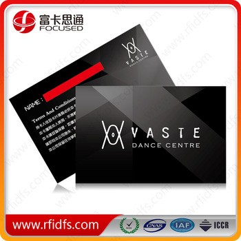 4 color offset printing 13.56MHz MIFARE Classic 1K rfid smart Card