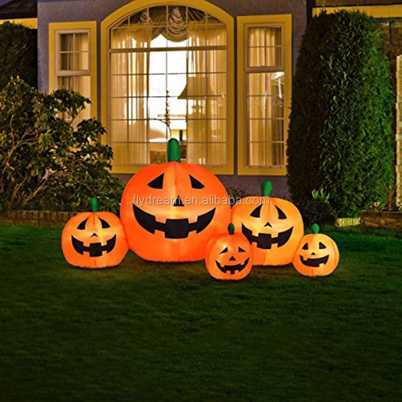 Hot Sale Pumpkin Halloween Inflatable Decoration,Led Light Pumpkin, High Quality Halloween Decoration