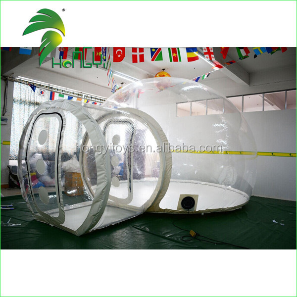 Commercial Inflatable Transparent Bubble Camping Tent