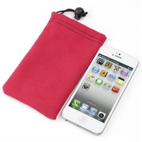 Buckle Velet Cell Phone Pouch